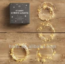 low voltage twistable Christmas tree decor led string light