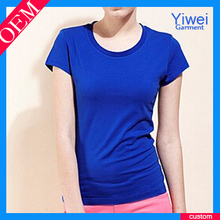 OEM factory cotton t shirt sport women t-shirts