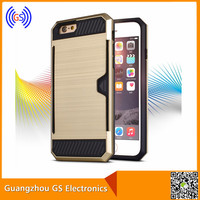 cell phone accessory 2016 2 in 1 slim tpu & pc case cover for iphone 6g 6plus