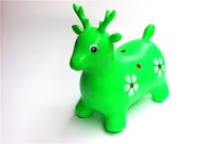 pvc jumping animal toy in inflatable toy animal