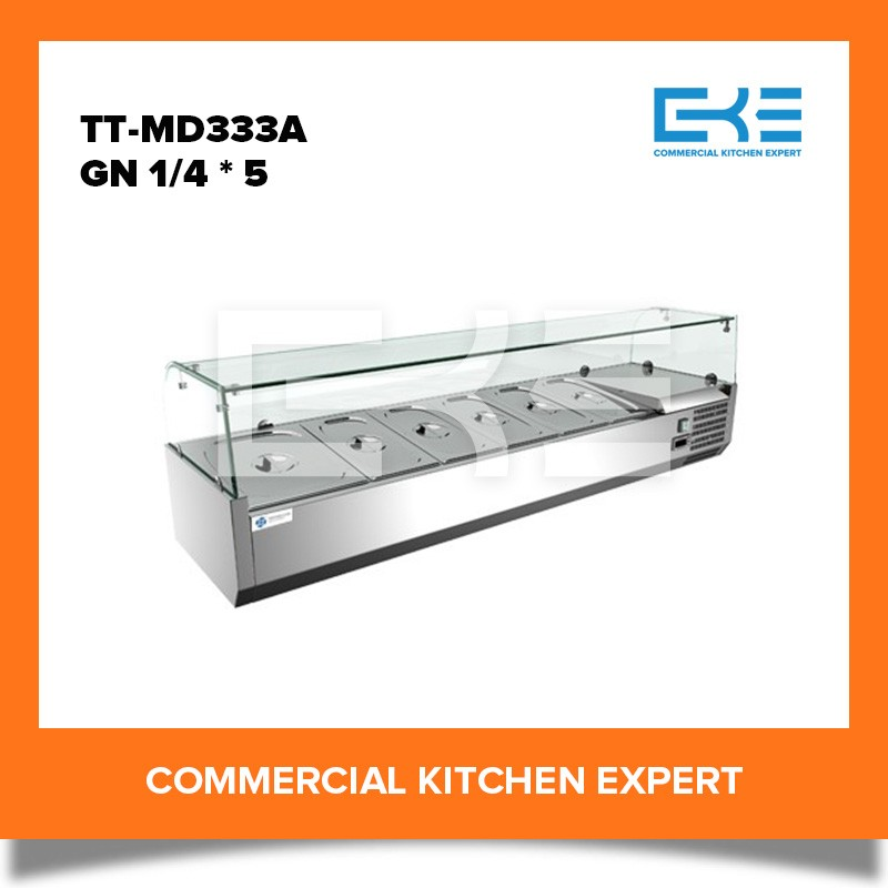 Cheap Restaurant Refrigerated Table Top Salad Pizza Prep Table Bar Price