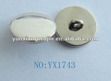 shining crystal metal snap buttons