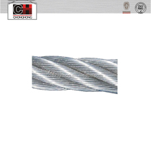 6X12+7FC winch wire rope
