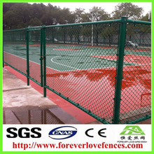 China professional suplier High quality galvanized chain link fence manufacture/Chain link fence for volleyball court