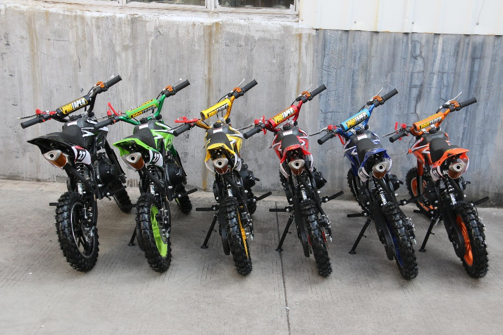 Wholesale Super Motard 49cc mini bike for child