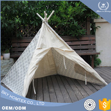 China manufacturer teepee tent children kids play with factory price