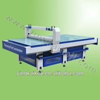2013 New design FY1325 flat pvc hot laminator with CE and BV certified