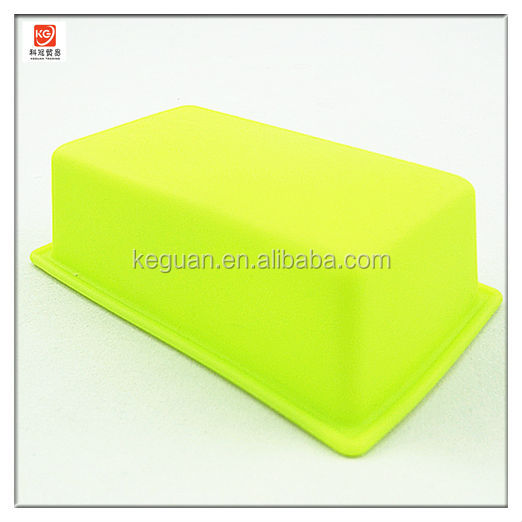 S-A0056 popular nice design colorful cuboid silicon bakeware
