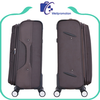 Large capacity luggage suitcase with laptop compartment