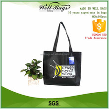 cheap advertising fashion non woven promotional bag for shopping