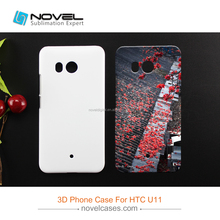 Diy Sublimation 3D Mobile Phone Cover Case For HTC U11