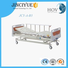 Movable full-fowler ABS head foot board king size two cranks manual hospital bed