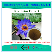 100% Pure Blue Lotus Extract With Kosher Halal ISO22000 Certificate