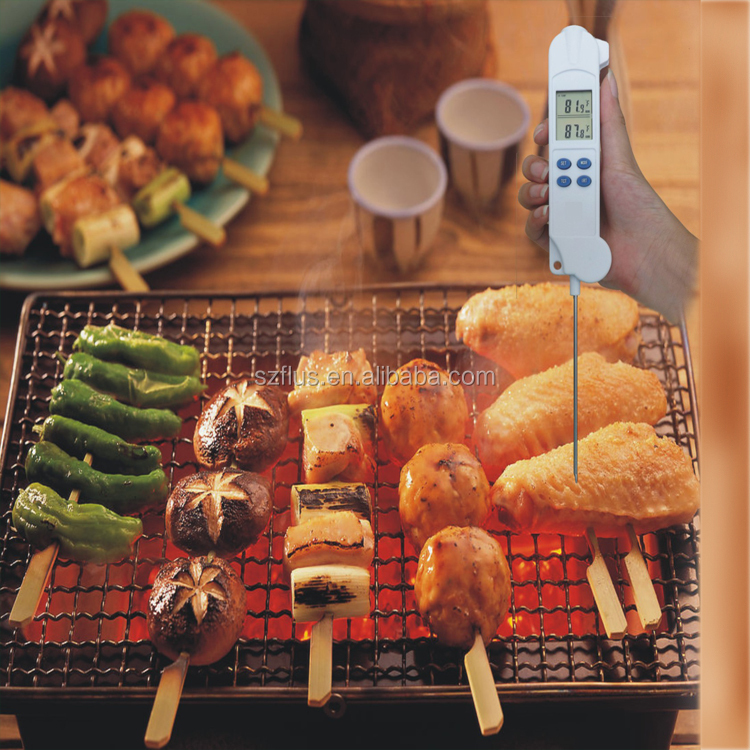 household items made china digital food thermometer foldable