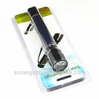 high quality green led flashlight
