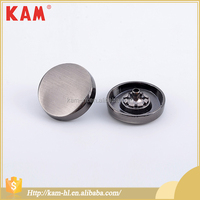 New design kam metal jeans button snap engraved