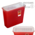 Sharps Container Biohazard Needle Disposal 1Qt Size Medical Waste Containers