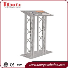 China Manufacturers Cheap POrtable Stage Truss Lectern For Event Stage