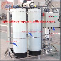 Micro-Membrane Ultra filtration online Recycling Water Filter, UF water treatment plant , UF Car washing sewage treatment plant