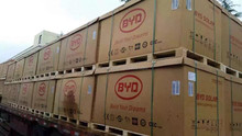 Big Power Solar modules from BYD (build your dreams)