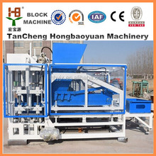 QTJ4-18 for Easy Operation concrete brick making machine equipment factory exporter