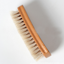 beech wood horse hair shoe brush
