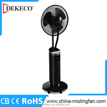 china supply water fan buyer outdoor stand fan with humidifier