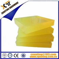 Customize color rubber polyurethane board ,PU rubber rod,PU square rod