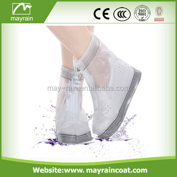 2017 Mayrain PVC Waterproof Boot Rain Shoe Cover Non-Slip Shoe Covers Newly Overshoes