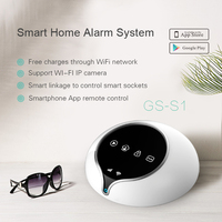 2017 Newest Wireless GSM home alarms 3G WiFi SMS GPRS home alarm home automation