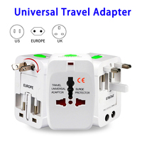 Top Quality World Wide Universal USB Travel Chargers Adapters