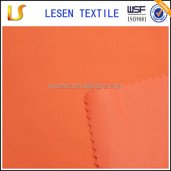 Lesen textile high quality thick woven nylon fabric with pu coating for outdoors