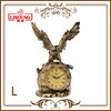 Antique Clock Bronze Eagle Sculpture Decoration