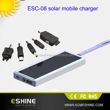 solar energy Power Bank Charger 2500mAh solar gift