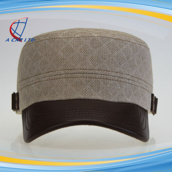 Quality Assurance Wholesale Custom Flat Top Military Hat