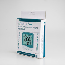 218B panel Max Min in/out indoor outdoor car thermometer