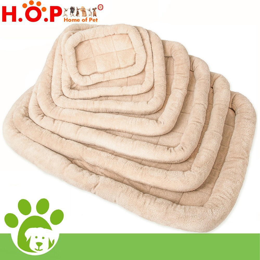 Various Sizes Deluxe Bolster Pet Bed for Cat & Dog Crate Bedding Mattress Pad