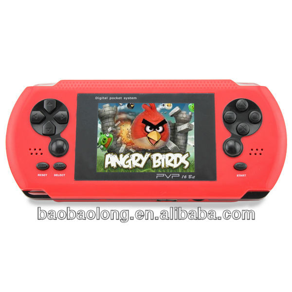 2.7 inch 16 bits PVP pocket handheld game console