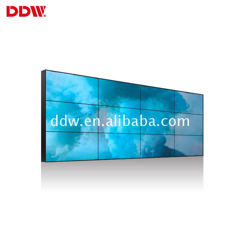 Equivalent Connecotr 46 inch 3.5mm bezel lcd video wall pip/pop LCD