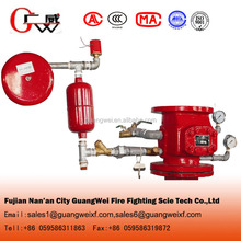 "Price for 3""/4""6""/8"" alarm check valve with water motor gong and other fittings"