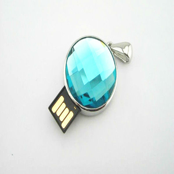 OEM earring jewelry diamond USB flash drive