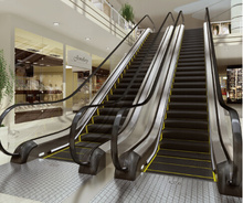 Economic indoor escalator for shopping mall