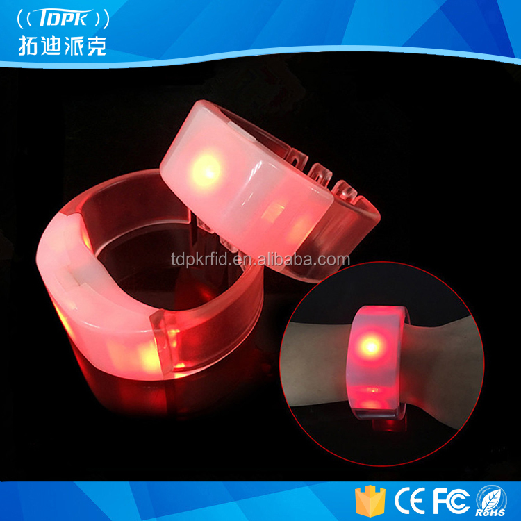 Voice Activated Sound Control light Flashing led wristbands for Night Club Activity Party Bar Music Concert Cheer