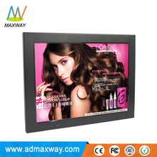 white black hot 12 inch digital picture frame with 4:3 resolution 800*600