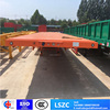 3axle 50ton Container Transport Flatbed Semi