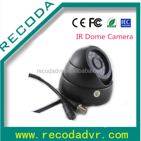 720P AHD 1.3MP Vehicle Mounted Infrared 15M Night Vision CCTV Dome Camera Car Rearview