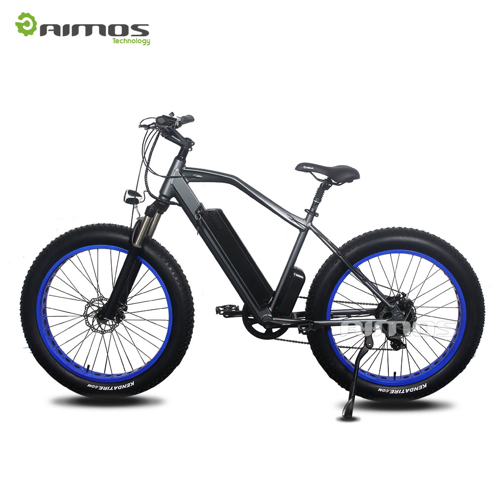 MXUS /8fun rear gearless drive motor fat tire electric bike nonslip fat tire electric vehicle with suspension fork