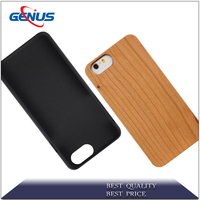 Wholesale New Design Beige Case Phone For Iphone Wood Case For Phone 6