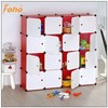 book cabinet style stackable plastic colored storage cubes