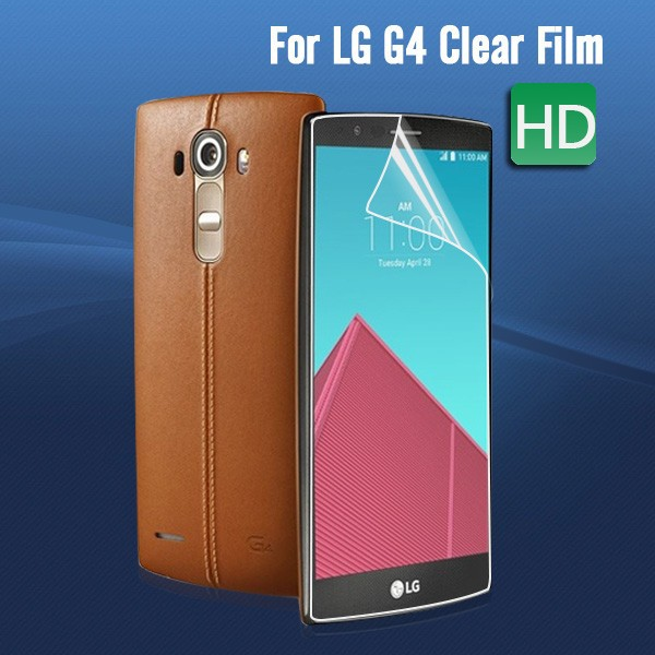Mobile phone accessory Anti-scratch High Clear Screen Protector For LG G4 made in korea